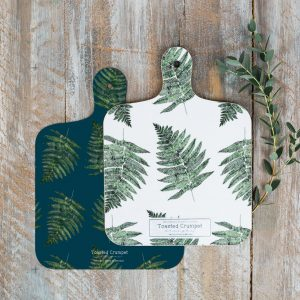Fern MINI Chopping Board by Toasted Crumpet