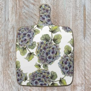 Hydrangea Pure Chopping Board by Toasted Crumpet