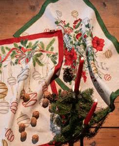 La Table Noel Tea Towels