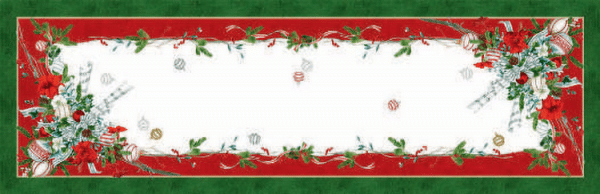 La Table au Noel Table Runner