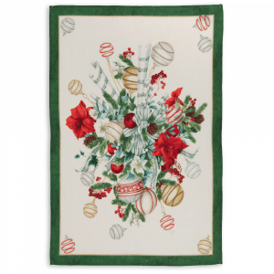 La Table au Noel Tea Towel Verde