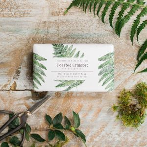 Oakmoss & Amber Soap by Toasted Crumpet