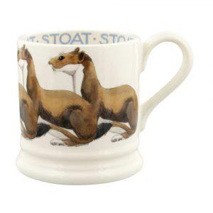 Emma Bridgewater Stoat 1/2 Pint Mug