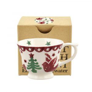 Christmas Joy Tiny Teacup in a Box