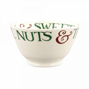 Emma Bridgewater Christmas Toast & Marmalade Brazil Nuts Small Old Bowl