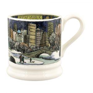 Emma Bridgewater Cities Of Dreams New York At Christmas 1/2 Pint Mug
