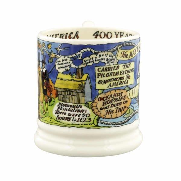 Emma Bridgewater The Mayflower 400 Years 1/2 Pint Mug
