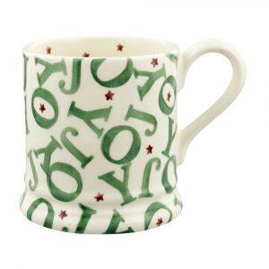 Emma Bridgewater Joy 1/2 Pint Mug