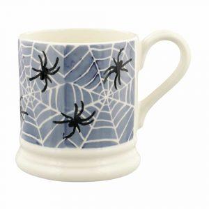 Emma Bridgewater Midnight Spiders 1/2 Pint Mug