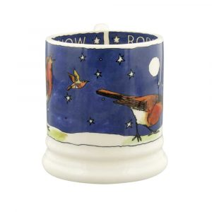 Emma Bridgewater Robins In The Snow 1/2 Pint Mug
