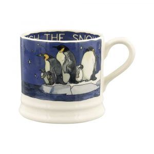 Winter Penguins Small Mug