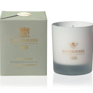 Herbal Woods Candle - Botanical Bee Collection by Rathbornes of Dublin