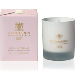 Jasmine & Petitgrain Candle - Botanical Bee Collection by Rathbornes of Dublin