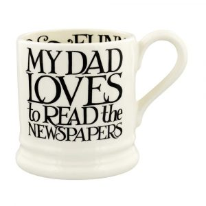 Emma Bridgewater Black Toast I Love My Dad 1/2 Pint Mug
