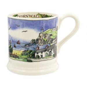 Emma Bridgewater Landscapes Of Dreams Cornish Beaches 1/2 Pint Mug