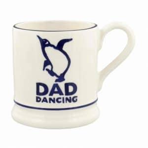 Emma Bridgewater Bright Mugs Dancing Dad 1/2 Pint Mug