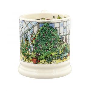 Emma Bridgewater Setting Up Home Greenhouse 1/2 Pint Mug