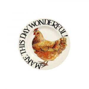 "Emma Bridgewater Rise & Shine Make This Day Wonderful 6 1/2"" Plate"