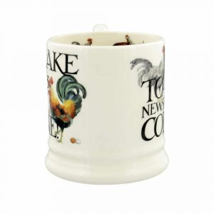 Emma Bridgewater Rise & Shine Eggs & Toast 1/2 Pint Mug