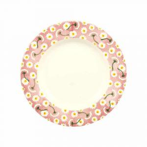 """Emma Bridgewater Pink Daisy 8 1/2"""" Plate"""