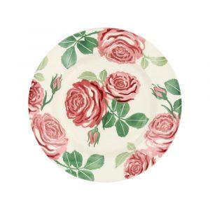 Emma Bridgewater Pink Roses 8 1/2 Inch Plate