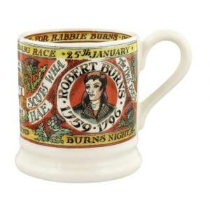 Emma Bridgewater Events Burns Night 1/2 Pint Mug