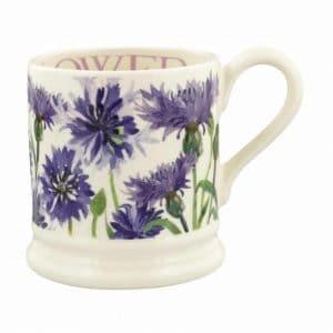 Emma Bridgewater Flowers Cornflower 1/2 Pint Mug