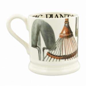 Emma Bridgewater Good Gardening Gardening Tools 1/2 Pint Mug
