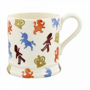 Emma Bridgewater British Lions & Unicorns 1/2 Pint Mug