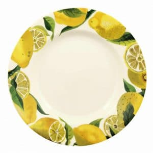 "Emma Bridgewater Vegetable Garden Lemons 10 1/2"" Inch Plate"