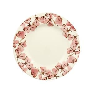 """Emma Bridgewater Pink Cabbage White Butterfly 8 1/2"""" Plate"""