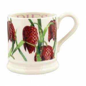 Emma Bridgewater Flowers Snakeshead Fritillary 1/2 Pint Mug
