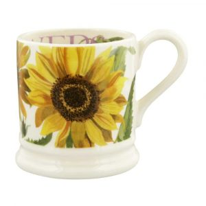 Emma Bridgewater Flowers Sunflower 1/2 Pint Mug