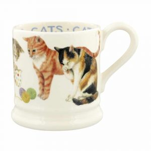 Emma Bridgewater Cats Cats All Over 1/2 Pint Mug