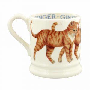 Emma Bridgewater Cats Ginger Cat 1/2 Pint Mug