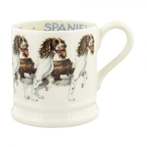 Emma Bridgewater Dogs Brown & Cream Spaniel 1/2 Pint Mug
