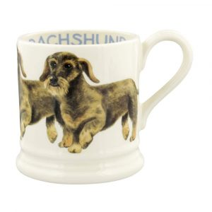 Emma Bridgewater Dogs Wire Haired Dachshund 1/2 Pint Mug