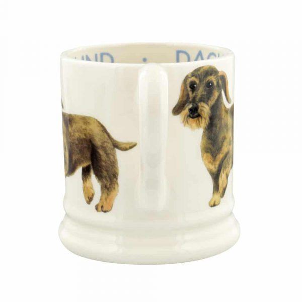 Emma Bridgewater Dogs Wire Haired Dachshund 1/2 Pint Mug