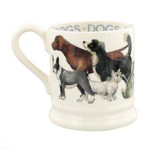 Emma Bridgewater Dogs Dogs All Over 1/2 Pint Mug