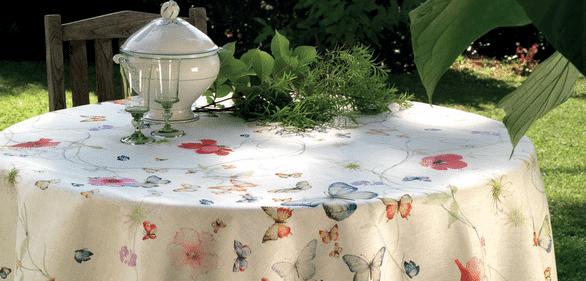 Italian Linen Tablecloths
