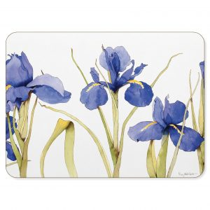 Blue Iris Placemat - Made in the UK