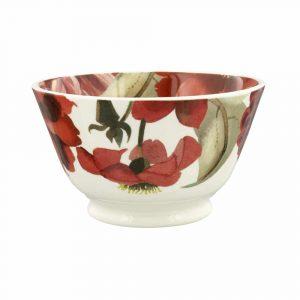 Emma Bridgewater Flowers Red & Pink Dahlias Small Old Bowl