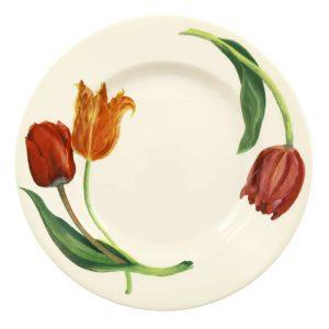 "Emma Bridgewater Flowers Tulips 10 1/2"" Plate"