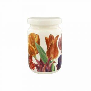 Emma Bridgewater Flowers Tulips Large Jam Jar With Lid