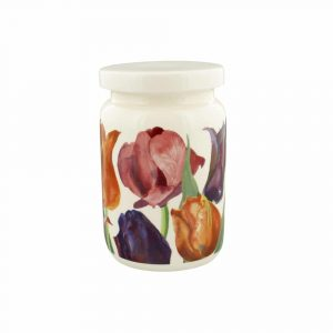Emma Bridgewater Flowers Tulips Large Jam Jar With Lid