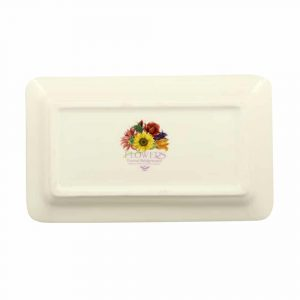 Emma Bridgewater Flowers Tulips Medium Oblong Plate