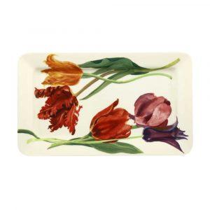 Emma Bridgewater Flowers Tulips Medium Oblong Plate