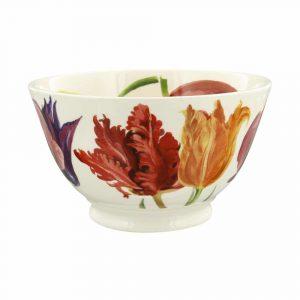 Emma Bridgewater Flowers Tulips Medium Old Bowl