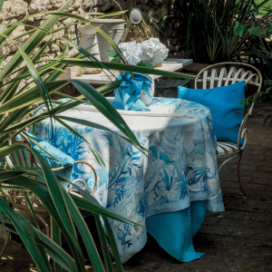 Tortuga Tablecloth 100% Linen Made in Italy