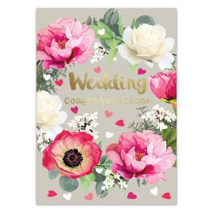 Wedding Congratulations Greetings Card By Sarah Kelleher